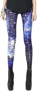 Women's Casual Digital Printed Footless Pants Elastic Sexy Tights Leggings