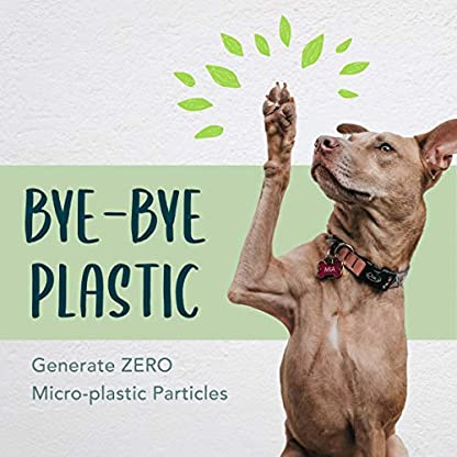 moonygreen Biodegradable Dog Poo Bags - Vegetable-Based, Home Compostable, Microplastic-Free, Unscented and Leak-Proof - 23 x 33 cm, Refill Pack of 120 9