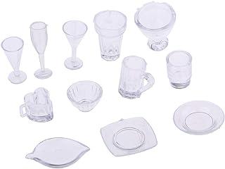 13 Eßgeräte Kochengeschirr Geschirr Set für 1//12 Puppenstube Küchen Zubehör