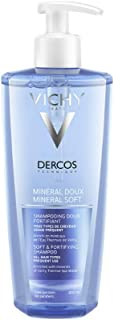 Vichy Decros Mineral Soft and Fortifying Shampoo,  400ml