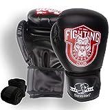 Senston Guantes de Boxeo Martial Adulto 12 OZ Guante de Entrenamiento para Hombres y Mujeres Guantes de Kickboxing para Boxeo, Artes Marciales, MMA, Boxing Gloves de Combate