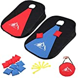 Best Cornhole Game Sets - JUOIFIP Collapsible Portable Cornhole Set Portable Cornhole Game Review