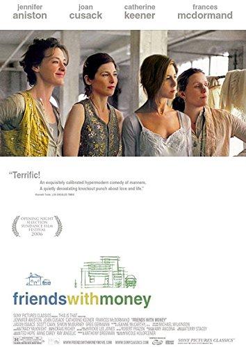 FRIENDS WITH MONEY - 27'x40' Original Movie Poster One Sheet 2006 Jennifer Aniston