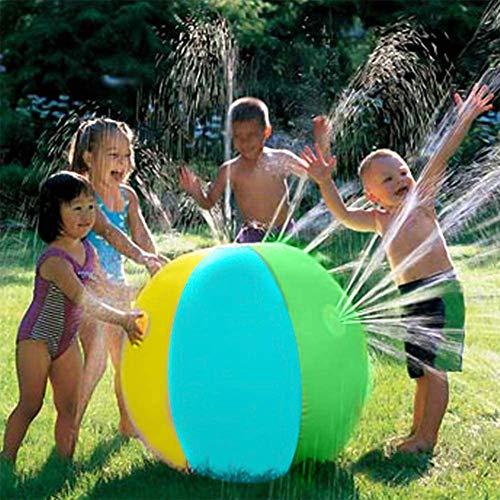 DGL Beach-Ball Spielzeug for den Strand spritzt Ball aufblasbaren Ball spielt im Wasser in die Luft aufblasbaren Kinder-Indoor-Spielplatz im Freien Durchmesser 75cm Schwimmbecken Strand