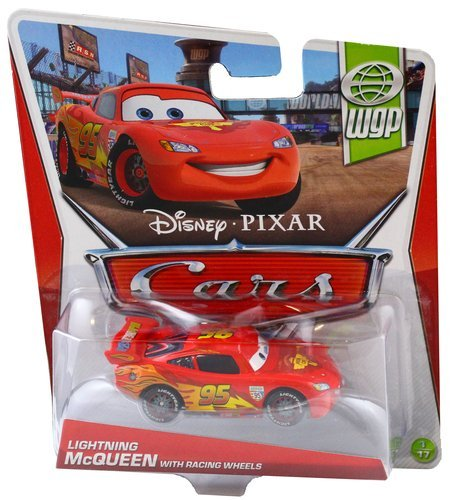 Cars WGP Lightning McQueen with Racing Wheels 1:55
