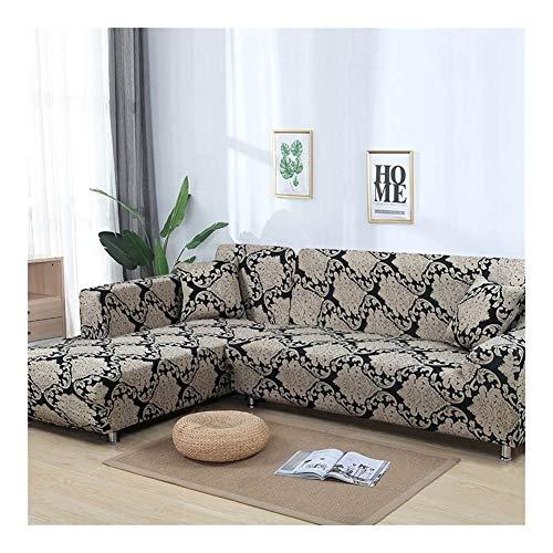 ZXF Funda Sofa Sofá Moderno De La Cubierta For Puertas Seccionales En Forma De L Sofá Cama Contempla El Caso De La Sala De Estar Estiramiento Elástico Sofá Cover 1/2/3/4 Plazas ##CCC