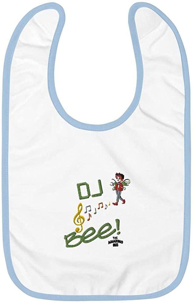 The Amazing 2021 Japan Maker New Bees Dj Baby Embroidered Bee Bib