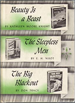 Hardcover Beauty is a Beast, The Sleepless Men, The Big Blackout Book