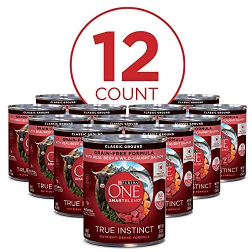 Purina ONE SmartBlend True Instinct Adult Canned Wet Dog Food 4