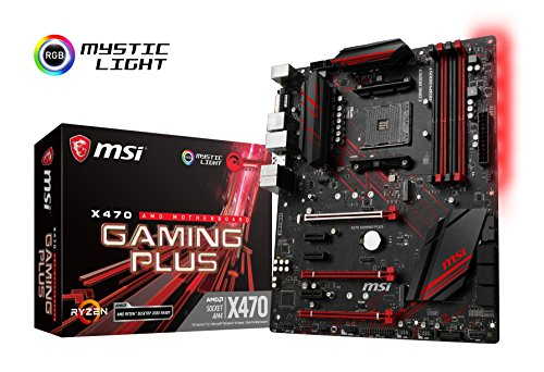 MSI X470 GAMING PLUS ATX gaming moederbord [AMD X470 chipset] MB4388