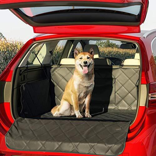 BELISY Universal Kofferraumschutz für Hunde - Mit Seiten- & Ladenkantenschutz - wasserdichte Luxus Kofferraummatte - rutschfest - 185 x 101 x 35 cm