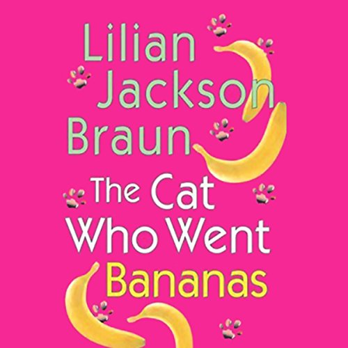 The Cat Who Went Bananas cover art
