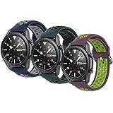 Correas Pulsera Compatible con Huawei Watch gt2 Pro Samsung Galaxy Watch 46 mm Galaxy Watch 3 / Gear S3 45 mm 22 mm Pulsera de...