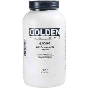 Golden GAC-100 Acrylic Polymer 32 oz