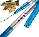 Lasélection Fishing Caña Pesca al Coup - Caña de Pescar telescópica Ultraligera, sólida - Pesca China - Pesca China de Caza; Herabuna Fishing ; Taiwan Fishing (7.2)