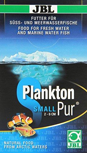 JBL PlanktonPur 30033 Leckerbissen für kleine Aquarienfische, 8 Sticks, 5 g