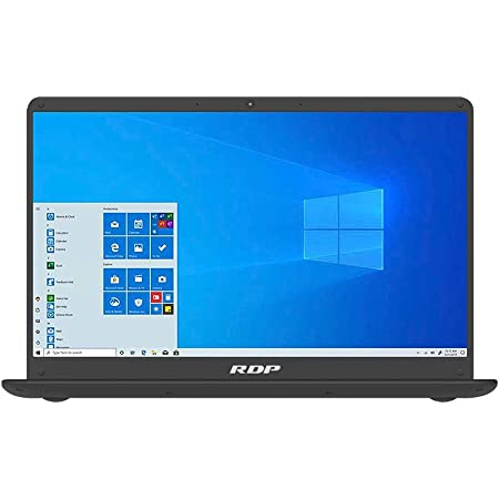 "RDP ThinBook 1010 - Intel Celeron Quad Core Processor, 4GB RAM, 64GB Storage, Windows 10 Pro, 14.1"" HD Screen"