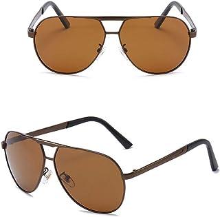 DishyKooker Men Polarized Sunglasses Large Frames Driving Frog Design Sunglasses