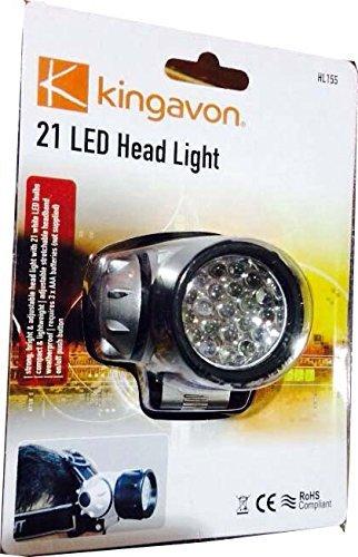 Kingavon BB-HL155 Lampe frontale 21 LED