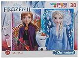Clementoni- Puzzle 30 Piezas Frozen 2, Color Multicolor. (20251.5)