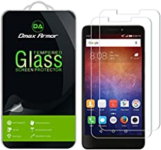 [2-Pack] Dmax Armor for Huawei Ascend XT Screen Protector, [Tempered Glass] 0.3mm 9H Hardness, Anti-Scratch, Anti-Fingerprint, Bubble Free, Ultra-Clear
