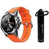 Coros VERTIX GPS Adventure Watch with Included Wearable4U Compact Power Bank Bundle (Fire Dragon)