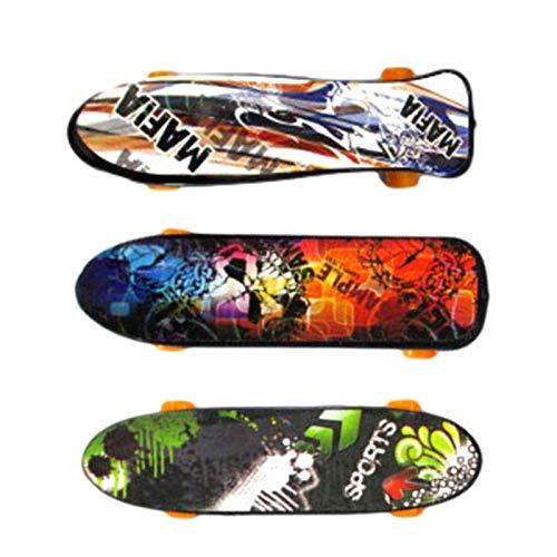 tidystore Mini Skateboard de Dita, Mini Finger Skateboard – Finger Skateboard de Dedo para Deportes Extremos para Niños