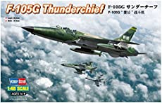 Hobby Boss 1/48 Scale F-105G Thunderchief - Plastic Model Building Set # 80333