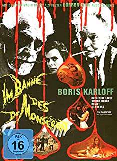 Im Banne des Dr. Monserrat - Mediabook - Cover B -Limited Edition auf 450 Stück [Blu-ray]
