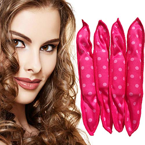 Dababell 40pcs hair rollers soft sleeping pillow hair curlers stain no heat hair rollers for kid DIY styling set