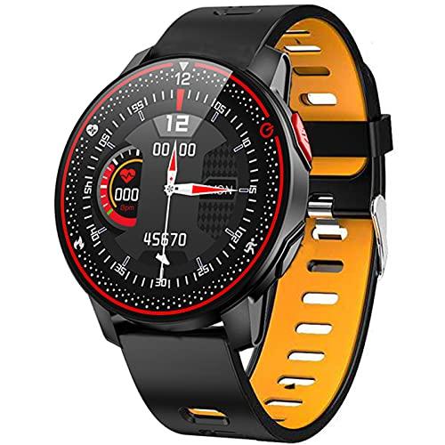 Ake Nuevo R18 SmartWatch Impermeable Smart Watch Lady Linda Pulsera Sphygmomanometer Lady Reloj de muñeca,E