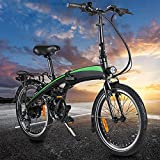 Vélos électriques, moma Bikes Electrique, Vélo Adulte, Cadre Pliant de vélo électrique 250W 20PoucesVélo électriqueBatterie au Lithium-ION cachée de 7,5AHAmovible