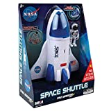 Daron NASA Space Adventure Series: Space Shuttle with Lights & Sounds & Figure, Approx 9' X 7'