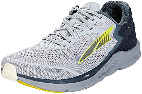 ALTRA Men's AL0A547F Torin 5 Road Running Shoe, Gray/Lime - 11.5 M US
