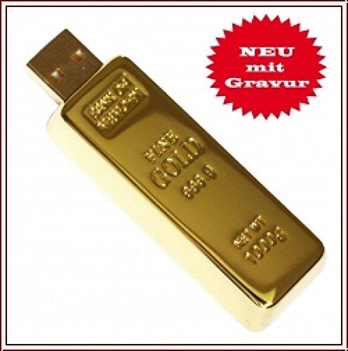 USB Speicherstick Goldbarren Imitation 2 GB