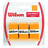 Wilson Pro Soft Overgrip Empuñadura, 3 unidades, unisex, do