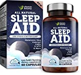 Vitamin Bounty - Get Your Sleep - Natural Sleep Aid - with 7 Scientifically Proven Ingredients Including Melatonin, Chamomile, Lemon Balm & Valerian, 60 Count