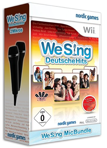We Sing - Deutsche Hits + 2 Mikros