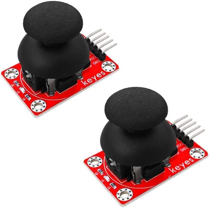 ZUQIEE 2PCS Joystick Module 5pin Rocker Buttons Discount is Max 63% OFF also underway PS2 For Biaxial