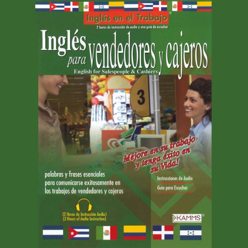 Ingles para Vendedores y Cajeros (Texto Completo) [English for Salespeople & Cashiers] audiobook cover art