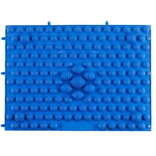 ULOOIE - Almohadilla de masaje para pies para acupuntura y actividades de partido, terapia médica (azul)
