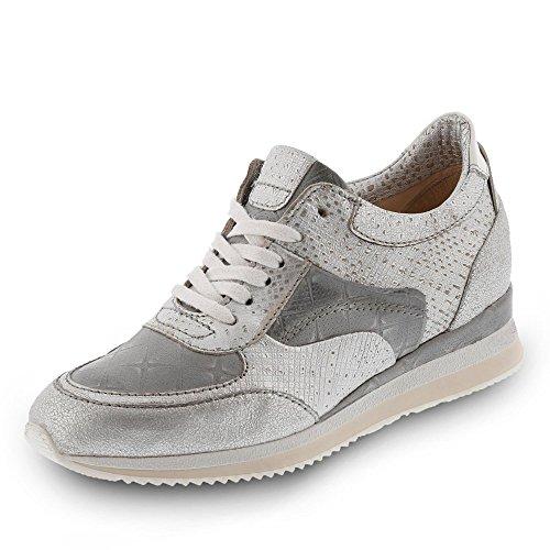 MJUS ZEPPER Sneakers dames Zilver/Grijs Lage sneakers