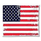 PPOU Amerikanische Flagge Wandteppich böhmischen Stil Wandbehang Schlafsaal Schlafzimmer Hauptdekoration Hintergr& Stoff Wandteppich A6 130x150cm