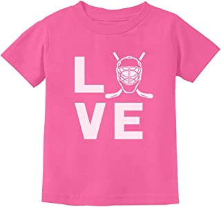 Love Hockey Shirt Hockey Lover Hockey Fan Youth Kids T-Shirt