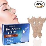 Bandelettes Nasales, Nasal Strips, Anti Ronflement Nasal, Bandelettes Nasales Anti-ronflement Congestion Nasale, 30PC