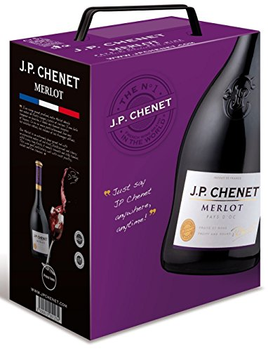 JP Chenet Merlot Bag-in-Box (1 x 5 l)