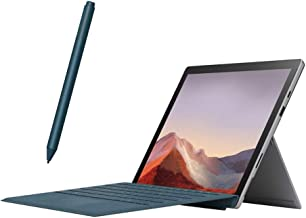 """$894 » Microsoft Surface Pro 7 2 in 1 Touchscreen PC Tablet 12.3"""" 2736x1824, 10th Gen i5, 8GB RAM, 128GB SSD, 4 Core up to 3.70 GHz, USB-C, Backlit, Webcam, Win 10 w/Cobalt Blue Type Cover and Surface Pen"""