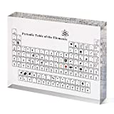 Periodic Table with Real Elements, Acrylic Periodic Table with Elements Samples, Periodic Table Display with Elements