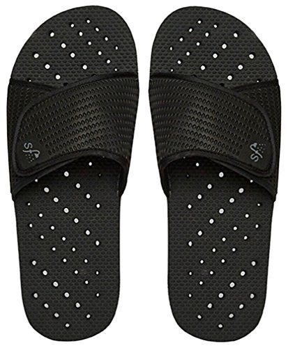 Showaflops Mens' Antimicrobial Shower & Water Sandals for...