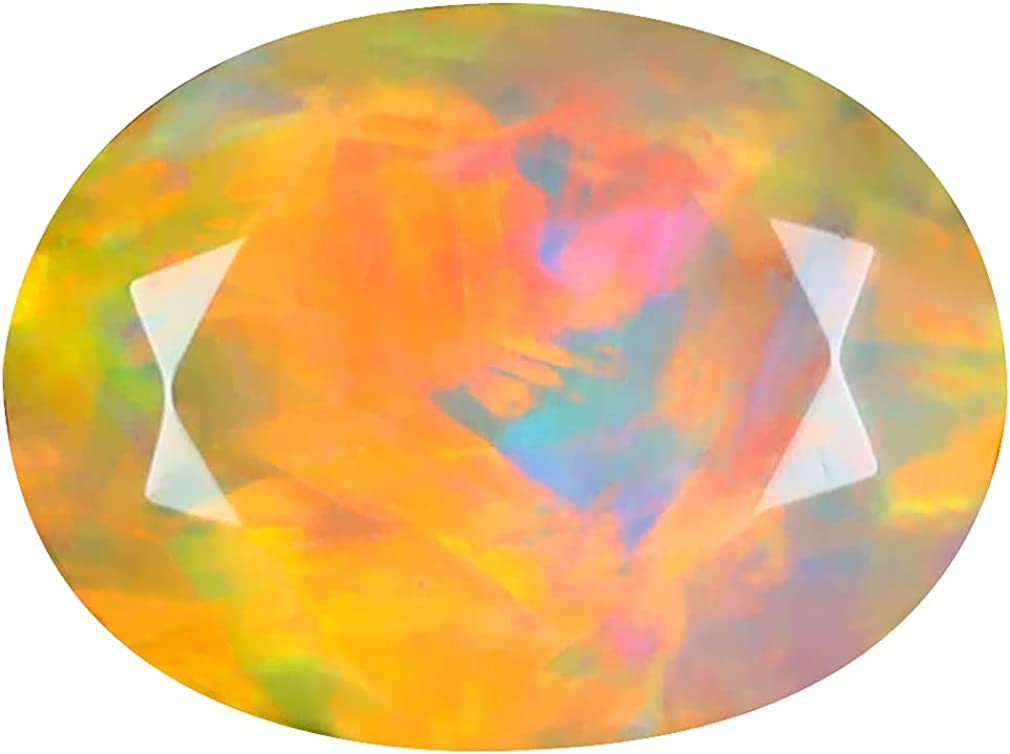 2.92 ct OVAL 12 X 9 RAINBOW FLASHING 360 DEGREE MULTICOLOR mm 2021 autumn and winter new outlet